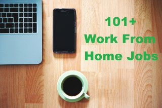 Work From Home Jobs No startup fees